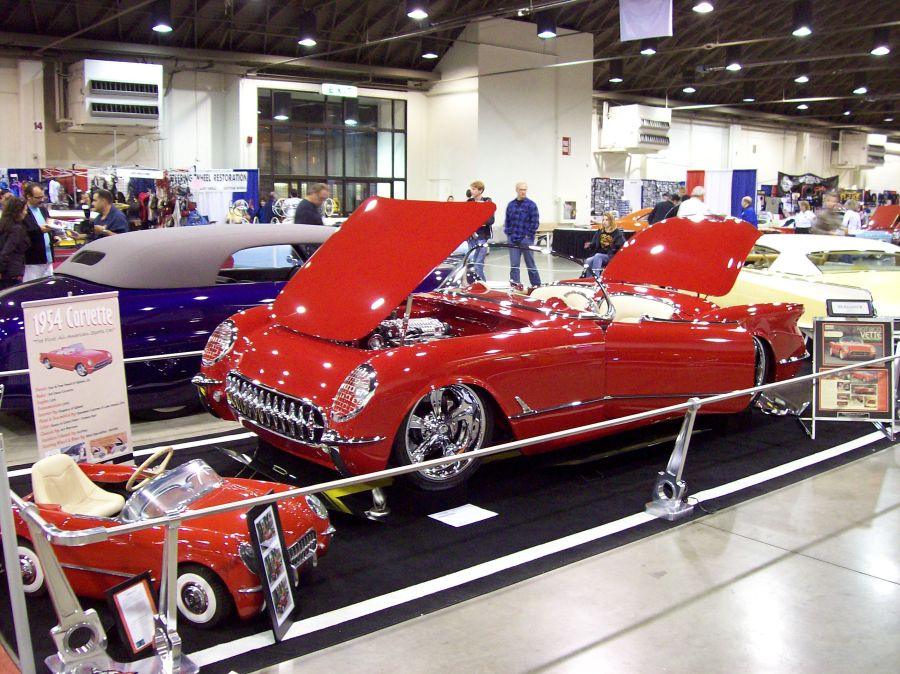 You are browsing images from: 54 Corvette